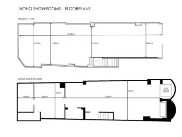 Noho Showrooms Floorplan