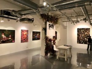 art exhibition venue