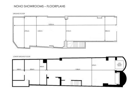 Noho Showrooms Floorplan